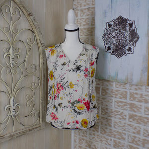 Old Navy Floral Flowy Sleeveless blouse